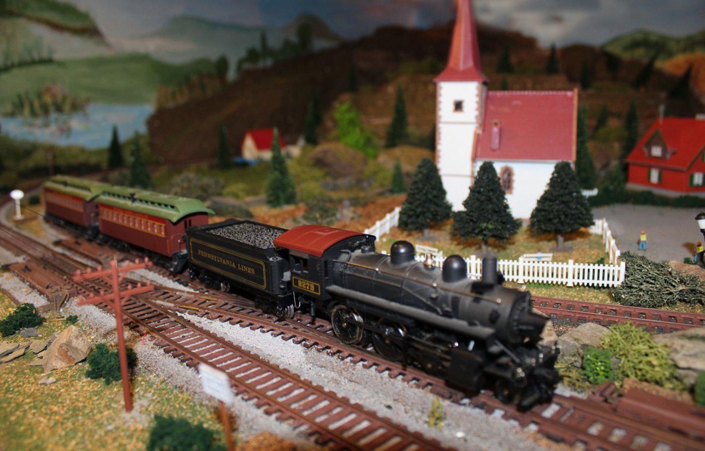 Green Ridge Village Ho model railroad