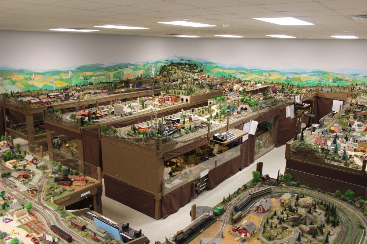 Green Ridge Village model train layout